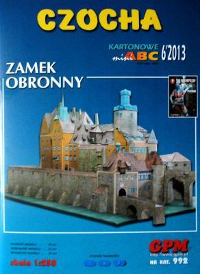 992  *  6\13   *  Czocha - Zamek Obronny (1:250)  *  GPM-ARH