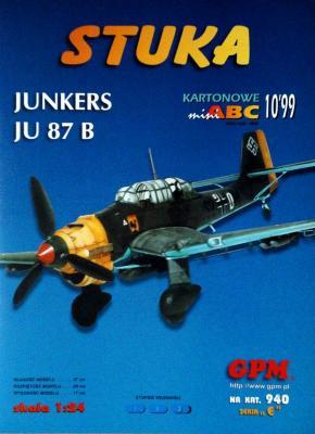 940  *  10\99   *  Stuka - Junkers JU 87 B (1:24)   *   GPM-ABC