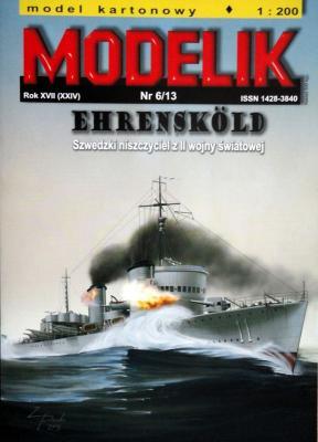 MOD-342   *   6\13   *   Ehrenskold (1:200)      +резка