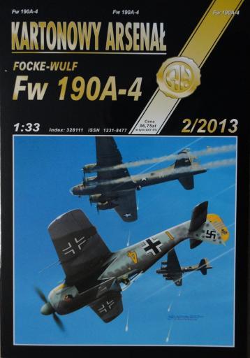 81  *  2\13   *   Focke-Wulf  FW  190A-4 (1:33)   * +колеса+кабины HAL