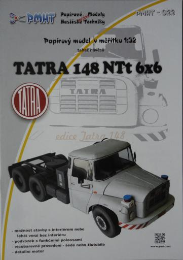 022  *   Tatra  148  NTt  6x6 (1:32)   *   PMHT