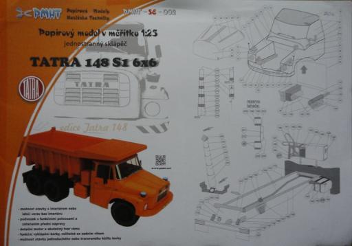 023a  *  Tatra 148S 1  6x6(1:25)   *   PMHT