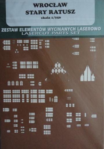 резка   Wroclaw   Stary  Ratusz(1:250)   *   GPM-ARH