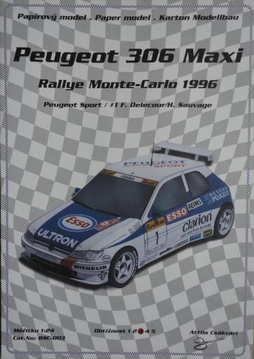 093  *  Peugeot 306 Maxi (1:24)  *  Ondr Hejl-Rally