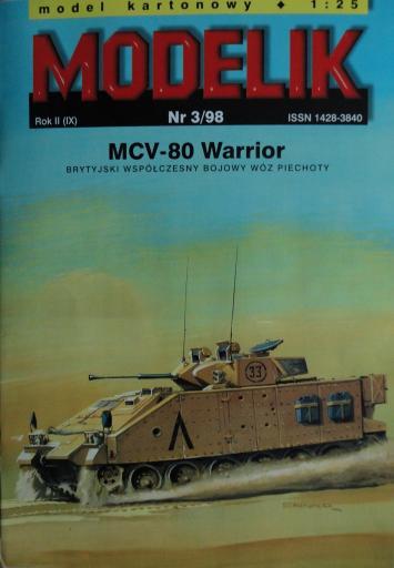 MOD-016   *   3\98   *   MCV-80 Warrior (1:25)