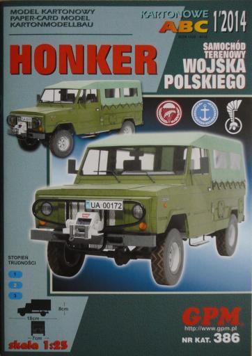 GP-371  *  1\14\386   *   HONKER wojska polskiego(1:25)