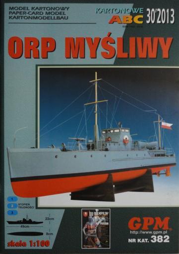 GP-367  *  30\13\382  *   ORP  Mysliwy(1:100)