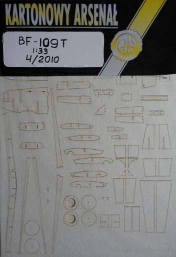 резка Bf-109 T (1:33)   *   HAL  4/2010