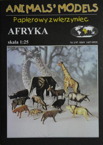 AFRYKA (1:25)   *   HAL