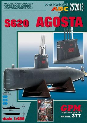 GP-362   *25\13\377   *   S 620  AGOSTA(1:200)