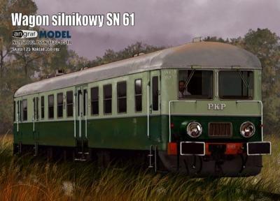 038   *   5\13   *   Wagon silnikowy SN 61 (1:25)   *   Angraf       +резка