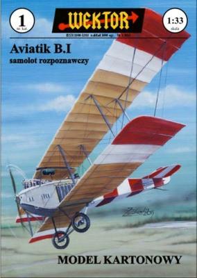 001    *    Aviatik B.I samolot rozpoznawczy (1:33)    *    WEKTOR