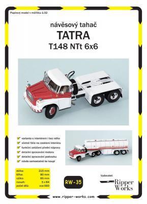 035    *   Tatra T148 NTt 6x6 (1:32)   *   RW